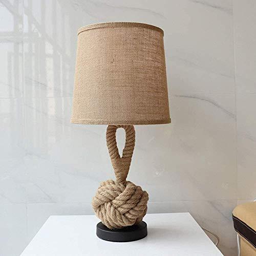 HtapsG Lámpara Escritorio Lámpara de Mesa de café de cá?Amo con Personalidad Retro, lámpara de Mesa de investigación, lámpara LED de habitación Modelo 1 * (28 * 60 cm)
