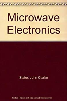 Paperback Microwave electronics, Book