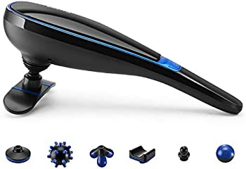 MaxKare Cordless Handheld Massager with 7 Massage Nodes