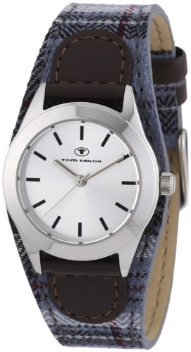 Tom Tailor Damen-Armbanduhr XS Analog Quarz Verschiedene Materialien 5408004