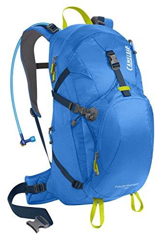 Pack Sac d'hydratation Fourteener 24 INTL, Tahoe Bleu / Lime Punch, 55 x 28 x 20 cm, 21 litres, 62 369