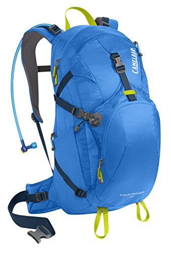 Pack Sac d'hydratation Fourteener 24 INTL, Tahoe Bleu / Lime Punch, 55 x 28 x 20 cm, 21 litres, 62 369