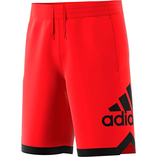 adidas Herren Badge of Sport Shorts, Active Red, XL