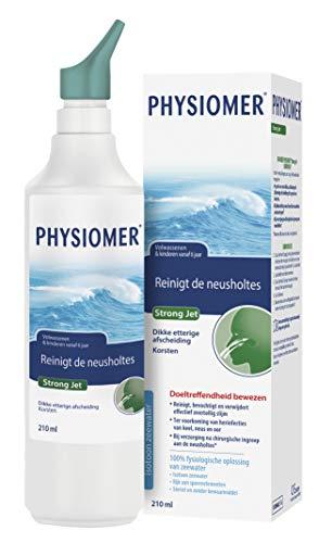 Physiomer Strong Jet - Neusspray bij verkoudheid en nasale operaties - Zorgt voor een reiniging van de neusholtes - 210ml