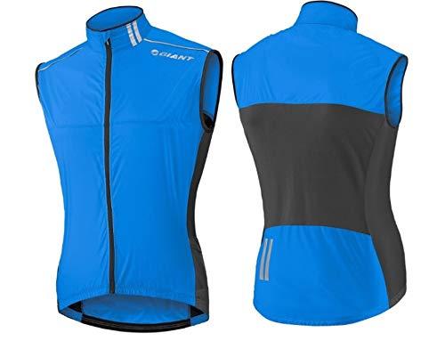 Giant Antivento Sport Ciclismo Outdoor Gilet Wind Vest Superlight Blue Blu Promo Offerta riducibile Taglia M