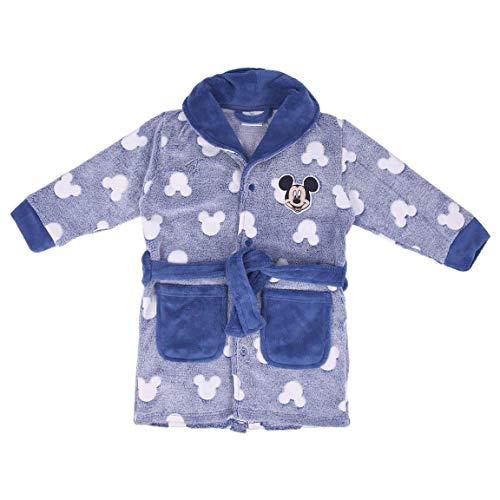 CERDÁ LIFE'S LITTLE MOMENTS Batin Niño Mickey Que Brilla en la Oscuridad-Licencia Oficial Disney, Azul, 2 años para Niños