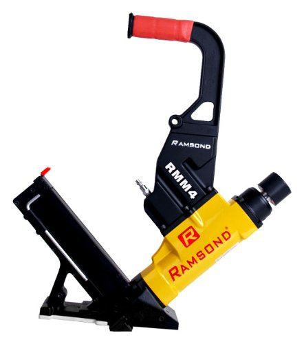 Ramsond RMM4 2-in-1 Air Hardwood Flooring Cleat Nailer and Stapler Gun