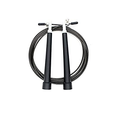 Jump Rope Adjustable Speed Rope for Cardio Training Best for Boxing MMA Training - Free Carry Bag & Screw Kit
