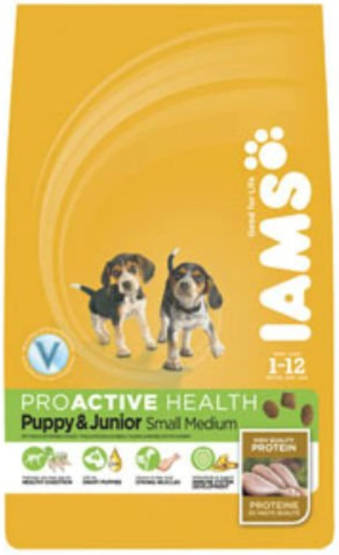 Iams ProActive Health Puppy Junior Small Medium Breed Dog Food 12kg