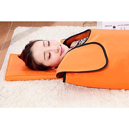 YUXINCAI Far Infrared Therapy Sauna Blanket, Oxford Sauna Heating Blanket, Weight Loss Body Shaper Professional Detox Therapy Anti Ageing Beauty Machine