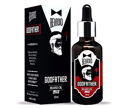 Beardo Godfather Lite Beard and Moustache Oil, 30 ml   Made in India