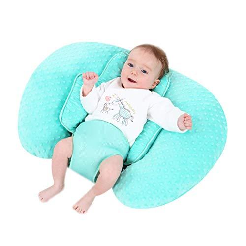 HEALTH 10 Anwendungen in 1Pillow, Stillkissen Stillen, Bottlefeeding, Bauch-Zeit, Reflux, Unterstützung und Schwangerschaft Kissen, Babysäuglingsernährung Kissen!,A