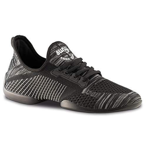 Anna Kern Hombres Zapatos de Baile/Dance Sneakers 4010 Pureflex - Negro - Suela de Sneaker [UK 7]