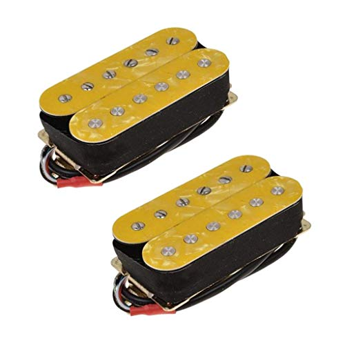High Output Guitar Pickup Double Coil Humbucker Pickups Neck and Bridge Set...