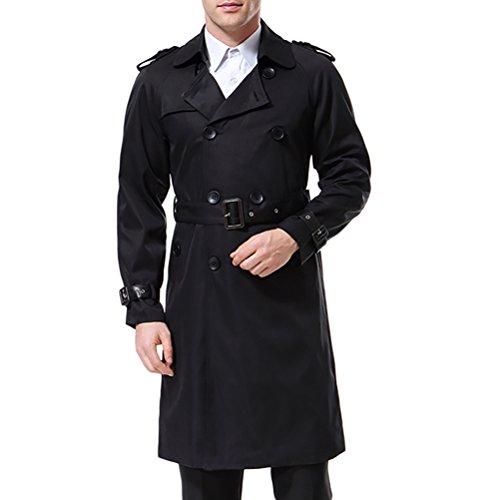 AOWOFS Herren Trenchcoat