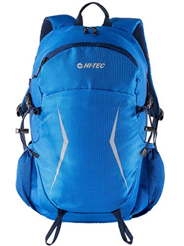 Hi-Tec XLAND Wanderrucksack Trekkingrucksack Taktischer Rucksack # Freizeitrucksack Damen Herren Teenager 18 L (blau, 18 L)