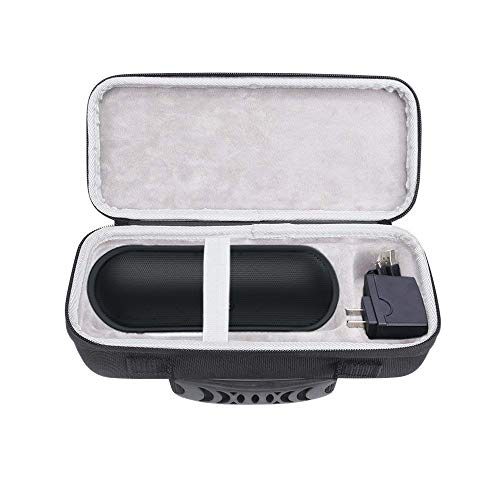 Esimen Hard Case for Tribit MaxSound Plus Portable Bluetooth Speaker Carry Bag Protective Box (Black+Gray)