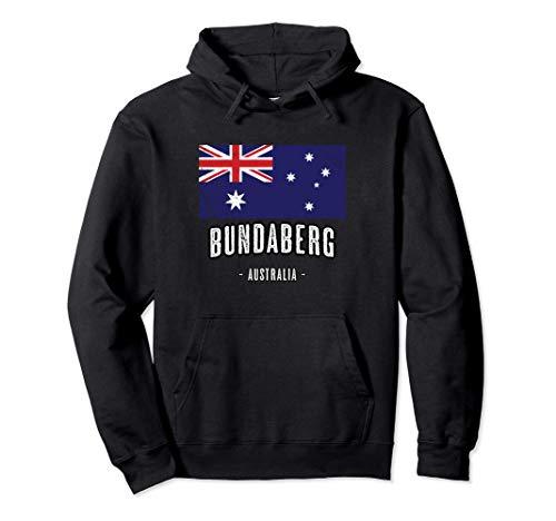 Stadt von BUNDABERG Australien | AU - Australische Flagge - Pullover Hoodie