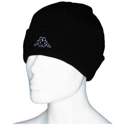 Kappa Uni Mütze Brissago, 005 black, one size, 390319 K