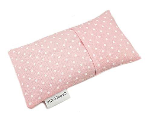 Saco térmico anti-cólicos bebé de semillas de trigo y lavanda.22 x 11cm (Rosa topos)