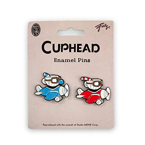 Cuphead & Mugman Collector's Edition Planes Enamel Pin Set