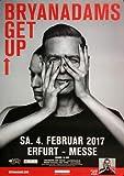 Bryan Adams - Get Up, Erfurt 2017 » Konzertplakat/Premium