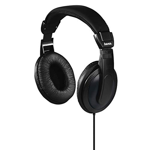 Hama | Cuffie stereo Over-Ear | 6m | Cavo extra lungo, nero
