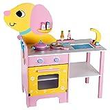Kids Kitchen Set Pretend Food Cooking Toys Juegue el juego de alimentos de juguete para niños hamburguesa rol juego de la cocina juguete de 3 años de edad, niña, regalo de niño Accesorios de juguete d