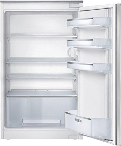 Siemens KI18RV20 iQ100 Einbau-Kühlschrank / A+ / 87.4 cm Höhe / 122 kWh/Jahr / 150 Liter Kühlteil / Extra viel Platz für Obst und Gemüse / Schlepptür-Technik