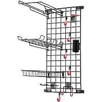 Mythinglogic Wall-Mounted Sports Equipment Storage System