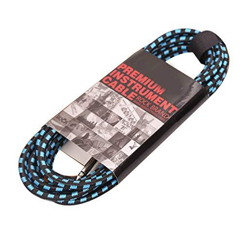 3m 5m 10m 20m Kabel voor elektrische gitaar Loodsnoer Snoer, Versterker Elektrische versterkerkabel Audioverbindingskabel Afgeschermd met laag geluidsniveau