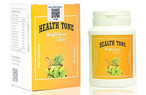 Health Tone BeautyPlus1 Natural Health Tone Herbal Weight Gain Capsules (90 Pieces)