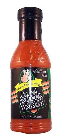 Anchor Bar Frank & Teressas Original Buffalo Wing Sauce Medium Recipe 12oz