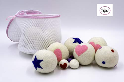 CRINOPS Wol droger wasverzachter Natural Ball herbruikbaar wasmachine Dryer