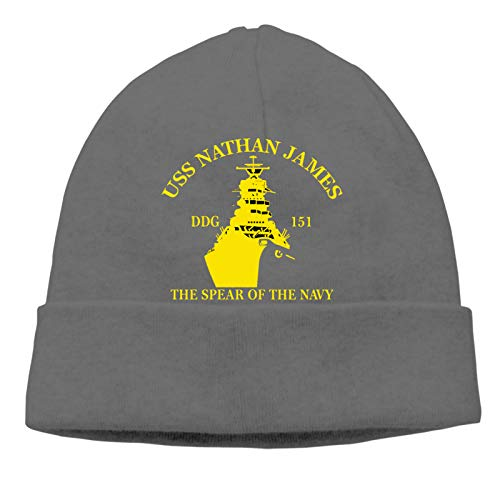 USS Nathan James The Last Ship Unisex Fashion Beanie Caps Man Women Hats Knitting Hat Warm Hedging Cap Deep Heather