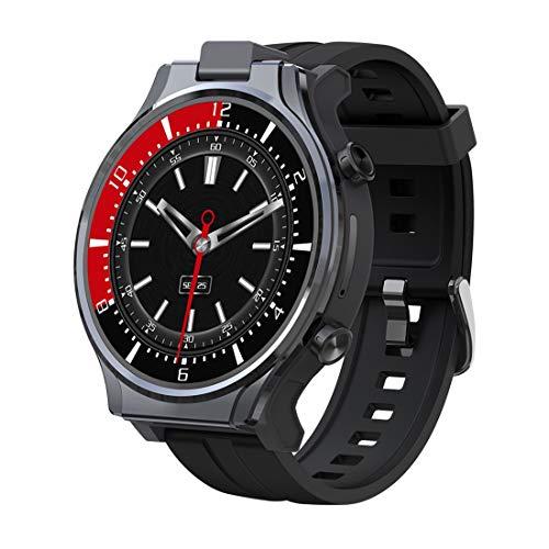 HEVÜY Smartwatch, Großer Speicher 4 + 64 GB Fitness Armband mit Pulsuhren, Fitness Tracker, 13 Millionen rotierende Kamera,Fitnessuhr Sportuhr Schrittzähler für Android iOS Handy Smart Watch