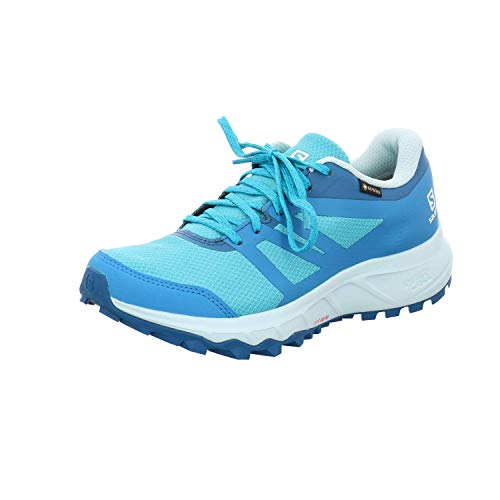Salomon Damen Trail Running Schuhe, TRAILSTER 2 GTX W, Farbe: blau (bluebird/icy morn/lyons blue) Größe: EU 39 1/3