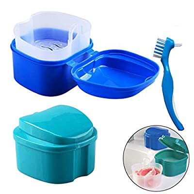 Denture Bath Box Case