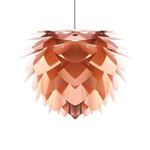 VITA design-mini lampe silvia copper-hauteur : 27 cm + câble de suspension et suivant) (noir)