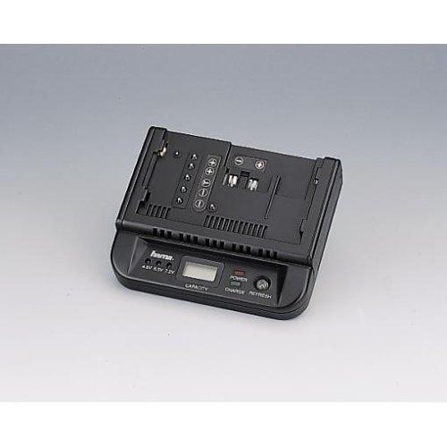 Hama Universal-Lade- / Entlade- und Teststation für 4,8/6 / 7,2V NiCd- und NiMH-Camcorder-Akkus