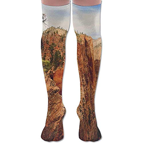 NA hangmat engel, de Zion National Park Utah Compression Socks landen