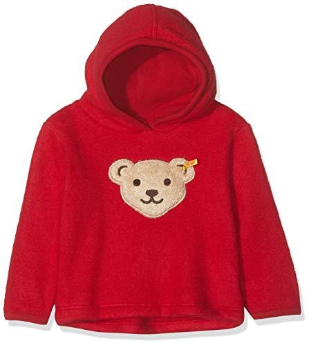 Steiff Sweatshirt Fleece Sweat-Shirt, Rouge (Jester Red 2120), 74 (Taille Fabricant: 074) Bébé Fille