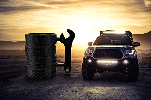 Product Image 4: MISHOWNET Tire Coffee Tea Mug Gift for Car Lovers Mechanics Car Enthusiasts Christmas Gifts for Man Birthday Gift