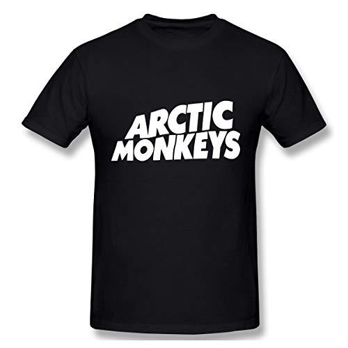 Gifetee Arctic Monkeys Herren Komfortabel T-Shirt Black XXL