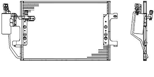 BEHR HELLA SERVICE 8FC 351 317-451 *** PREMIUM LINE *** Kondensator, Klimaanlage