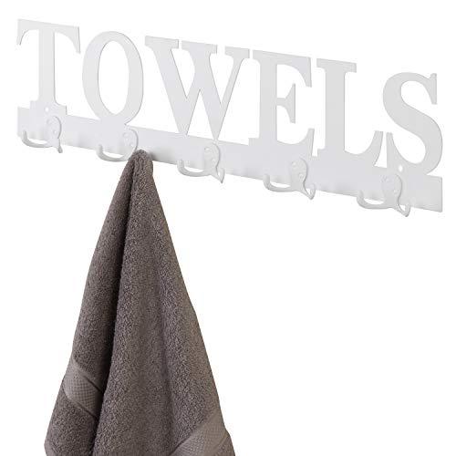 towel bar white - 7