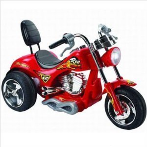 Purchase 6 MPH Motorcycle 12v Power Kids Chopper Ride On Wheels RED, Yellow OR Orange- Color Sent at Random Unless You Contact Prior to Purchase for Arrangement