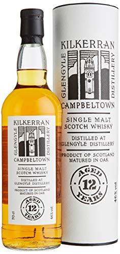 Kilkerran Glengyle 12 Years Old Single Malt Scotch Whisky mit Geschenkverpackung (1 x 0.7 l)
