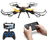 Amitasha 360p Wi-Fi Drone for Kids with Camera and Remote Control