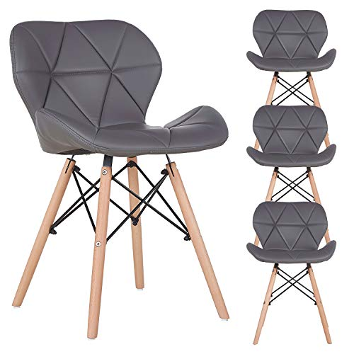 N A to MUEBLES HOME - Juego de 4 sillas de comedor,...